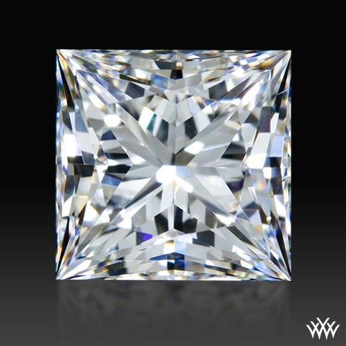 0.838 ct F VS1 A CUT ABOVE® Princess Super Ideal Cut Diamond