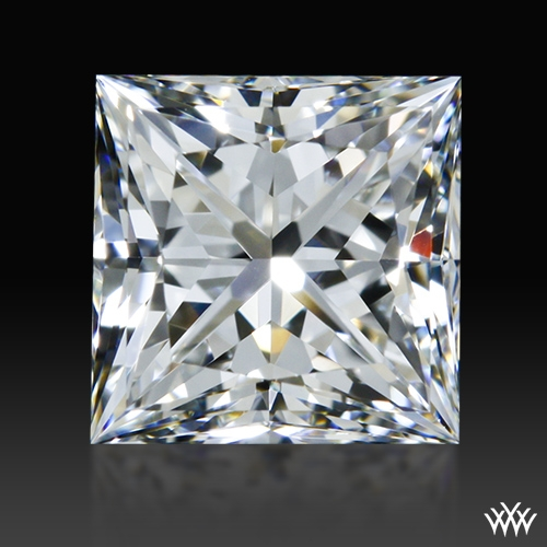 0.826 ct H VVS1 A CUT ABOVE® Princess Super Ideal Cut Diamond