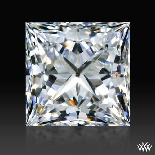 0.561 ct H VVS1 A CUT ABOVE® Princess Super Ideal Cut Diamond