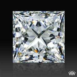 0.561 ct H VVS1 A CUT ABOVE® Princess Super Ideal Cut Diamond