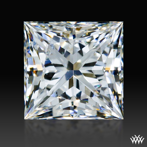 0.675 ct I SI1 A CUT ABOVE® Princess Super Ideal Cut Diamond