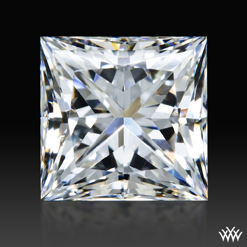 1.208 ct G VS2 A CUT ABOVE® Princess Super Ideal Cut Diamond