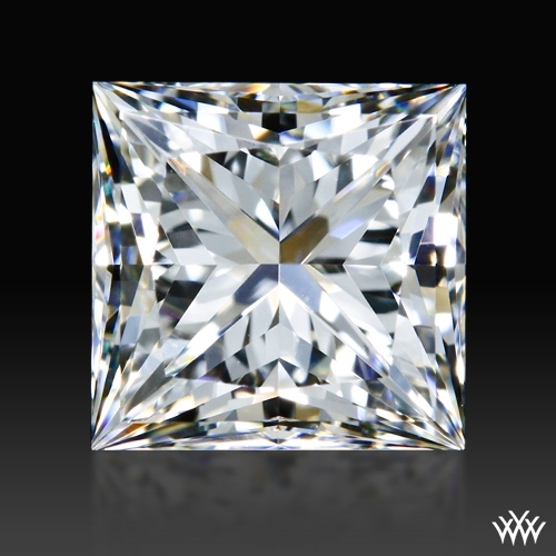 1.085 ct H VVS2 A CUT ABOVE® Princess Super Ideal Cut Diamond