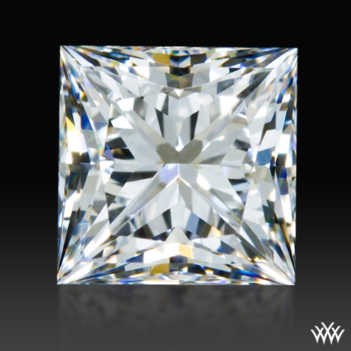0.814 ct F VS1 A CUT ABOVE® Princess Super Ideal Cut Diamond