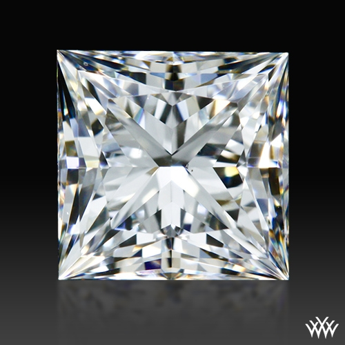 0.85 ct G VS2 A CUT ABOVE® Princess Super Ideal Cut Diamond