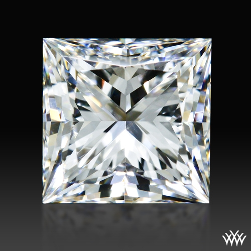 0.902 ct E VVS2 Expert Selection Princess Cut Loose Diamond