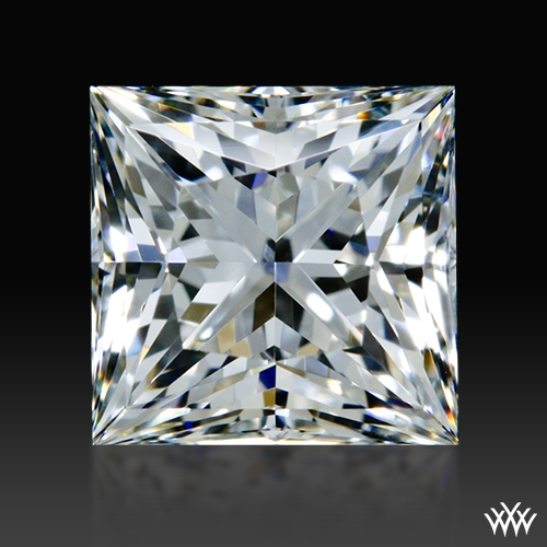 0.775 ct H VS2 A CUT ABOVE® Princess Super Ideal Cut Diamond