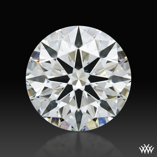 1.298 ct H VS2 A CUT ABOVE® Hearts and Arrows Super Ideal Round Cut Loose Diamond