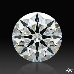 0.906 ct H VS2 A CUT ABOVE® Hearts and Arrows Super Ideal Round Cut Loose Diamond