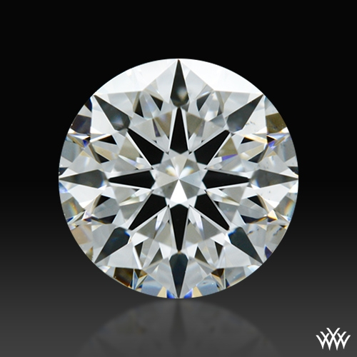 0.923 ct F VS2 A CUT ABOVE® Hearts and Arrows Super Ideal Round Cut Loose Diamond