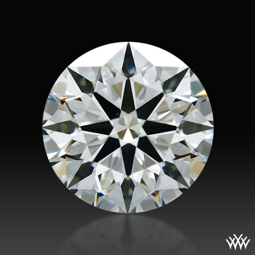 0.904 ct G VS2 A CUT ABOVE® Hearts and Arrows Super Ideal Round Cut Loose Diamond