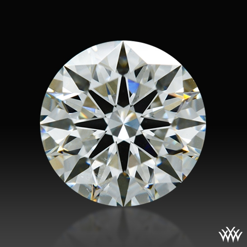 1.02 ct I SI1 A CUT ABOVE® Hearts and Arrows Super Ideal Round Cut Loose Diamond