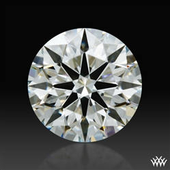 0.533 ct J VS2 A CUT ABOVE® Hearts and Arrows Super Ideal Round Cut Loose Diamond