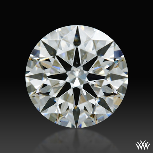0.528 ct H VS2 A CUT ABOVE® Hearts and Arrows Super Ideal Round Cut Loose Diamond