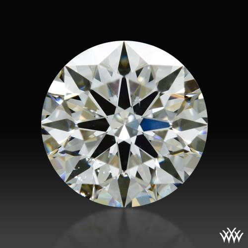 0.348 ct I SI1 A CUT ABOVE® Hearts and Arrows Super Ideal Round Cut Loose Diamond
