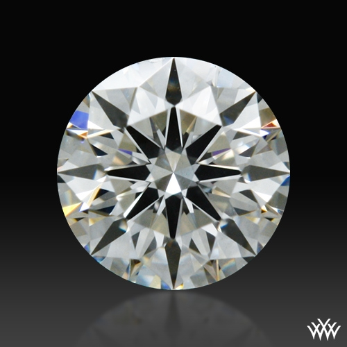 0.302 ct I SI1 A CUT ABOVE® Hearts and Arrows Super Ideal Round Cut Loose Diamond
