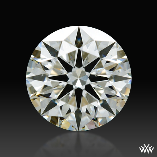0.344 ct J VS2 A CUT ABOVE® Hearts and Arrows Super Ideal Round Cut Loose Diamond