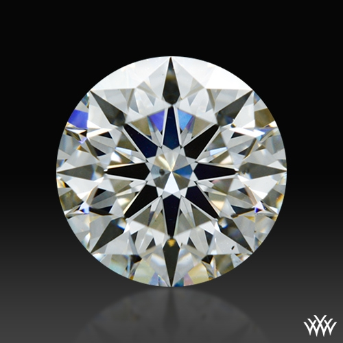 0.762 ct G SI1 A CUT ABOVE® Hearts and Arrows Super Ideal Round Cut Loose Diamond