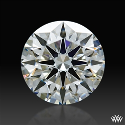 0.302 ct F SI1 A CUT ABOVE® Hearts and Arrows Super Ideal Round Cut Loose Diamond