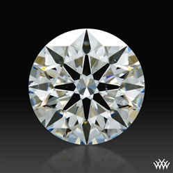 0.718 ct F SI1 A CUT ABOVE® Hearts and Arrows Super Ideal Round Cut Loose Diamond