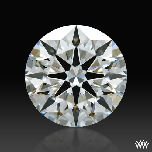 0.778 ct F SI1 A CUT ABOVE® Hearts and Arrows Super Ideal Round Cut Loose Diamond