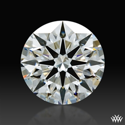 0.824 ct G SI1 A CUT ABOVE® Hearts and Arrows Super Ideal Round Cut Loose Diamond