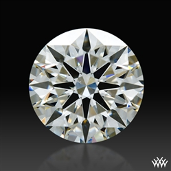 0.856 ct I SI1 A CUT ABOVE® Hearts and Arrows Super Ideal Round Cut Loose Diamond
