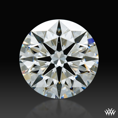 0.716 ct G VS2 A CUT ABOVE® Hearts and Arrows Super Ideal Round Cut Loose Diamond