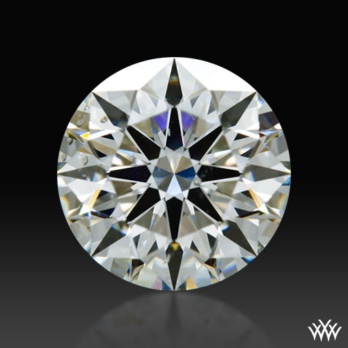 0.78 ct H SI1 A CUT ABOVE® Hearts and Arrows Super Ideal Round Cut Loose Diamond