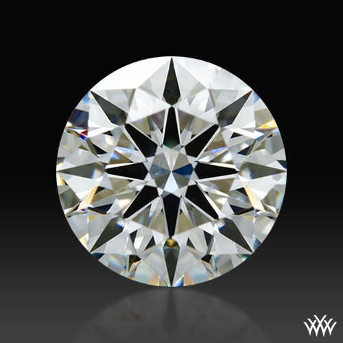 0.712 ct H VS2 A CUT ABOVE® Hearts and Arrows Super Ideal Round Cut Loose Diamond