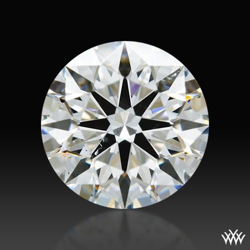 0.548 ct G SI1 A CUT ABOVE® Hearts and Arrows Super Ideal Round Cut Loose Diamond