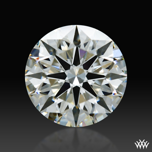 0.812 ct I VS2 A CUT ABOVE® Hearts and Arrows Super Ideal Round Cut Loose Diamond