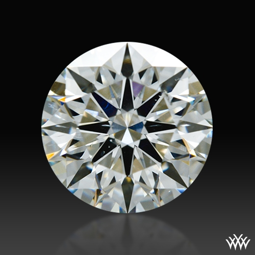 0.826 ct H SI1 A CUT ABOVE® Hearts and Arrows Super Ideal Round Cut Loose Diamond