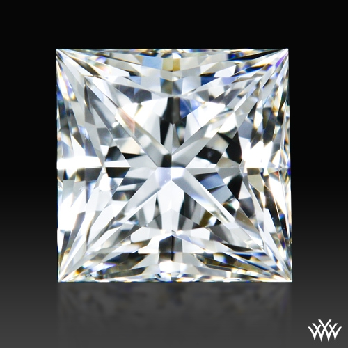 0.904 ct H VS1 A CUT ABOVE® Princess Super Ideal Cut Diamond