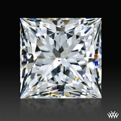 0.952 ct J SI1 A CUT ABOVE® Princess Super Ideal Cut Diamond
