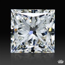 1.013 ct J SI1 A CUT ABOVE® Princess Super Ideal Cut Diamond