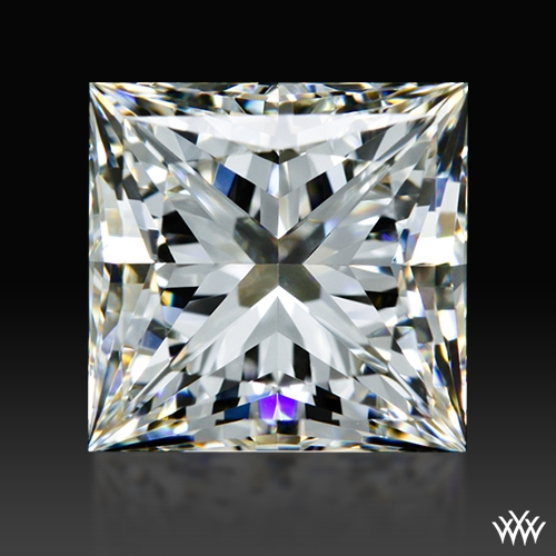 1.503 ct I VVS2 A CUT ABOVE® Princess Super Ideal Cut Diamond