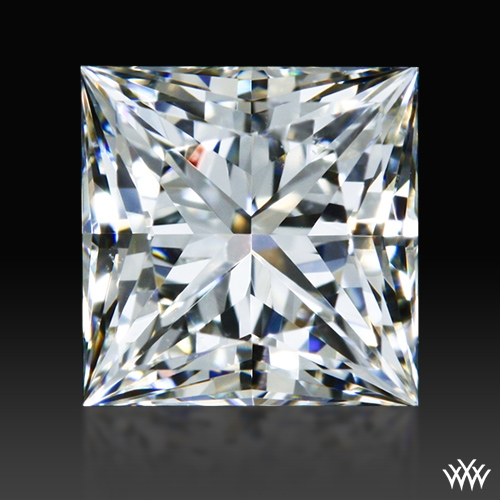 0.70 ct I SI1 A CUT ABOVE® Princess Super Ideal Cut Diamond