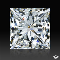 0.70 ct I SI1 A CUT ABOVE® Princess Super Ideal Cut Diamond