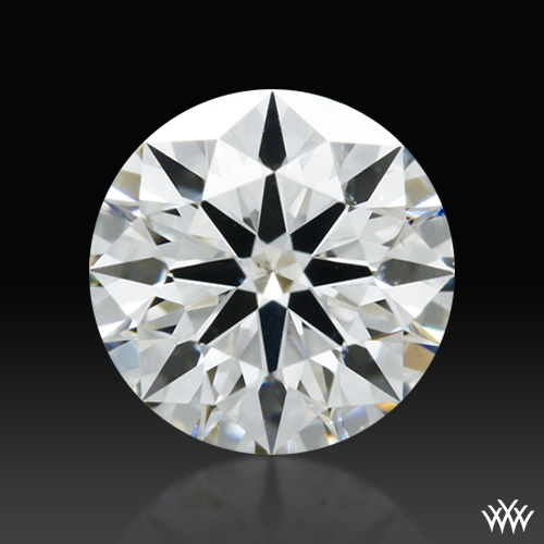 0.356 ct H SI1 A CUT ABOVE® Hearts and Arrows Super Ideal Round Cut Loose Diamond