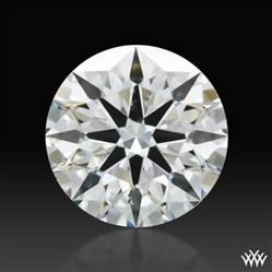 0.304 ct H SI1 A CUT ABOVE® Hearts and Arrows Super Ideal Round Cut Loose Diamond