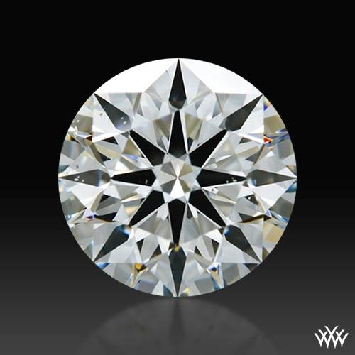 1.506 ct H SI1 A CUT ABOVE® Hearts and Arrows Super Ideal Round Cut Loose Diamond