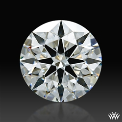 2.163 ct H VS2 A CUT ABOVE® Hearts and Arrows Super Ideal Round Cut Loose Diamond