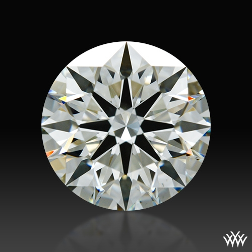 2.227 ct J VS2 A CUT ABOVE® Hearts and Arrows Super Ideal Round Cut Loose Diamond