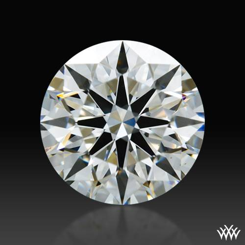 0.551 ct F VS1 A CUT ABOVE® Hearts and Arrows Super Ideal Round Cut Loose Diamond