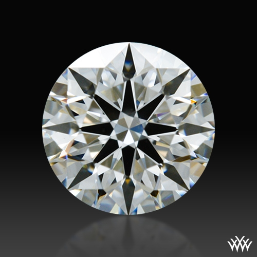 0.556 ct E VS1 A CUT ABOVE® Hearts and Arrows Super Ideal Round Cut Loose Diamond