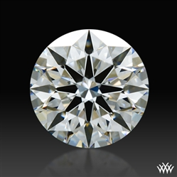 0.541 ct F VS1 A CUT ABOVE® Hearts and Arrows Super Ideal Round Cut Loose Diamond