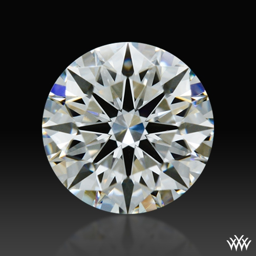 0.524 ct E VS1 A CUT ABOVE® Hearts and Arrows Super Ideal Round Cut Loose Diamond