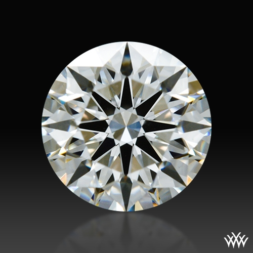 0.545 ct F VS1 A CUT ABOVE® Hearts and Arrows Super Ideal Round Cut Loose Diamond