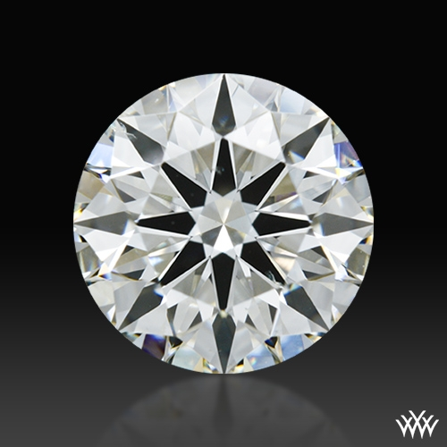 1.526 ct I SI1 A CUT ABOVE® Hearts and Arrows Super Ideal Round Cut Loose Diamond